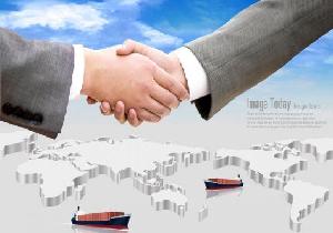 国際貿易のイメージ